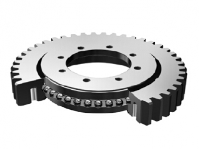 Four Point Contact Ball Slewing Bearing Light Series(External Gear Type)